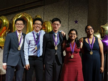 Cappies nominees from participating high schools arrive on the Red Carpet, prior to the start of the annual Cappies Gala awards, held at the National Arts Centre, on June 09, 2019, in Ottawa, Ont.  (