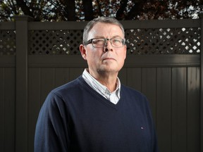 Vice-Admiral Mark Norman at his home in Ottawa Thursday May 16, 2019.