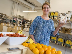 Valérie Leloup is the Founder and CEO of the NU Grocery zero-waste grocery store on Wellington Street.
