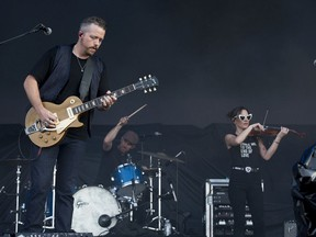 Jason Isbell and the 400 Unit take to the city stage after the severe weather warning passed as the second day of RBC Bluesfest gets going on Friday evening.