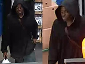 Suspect sought in June 25 break-in at business in the 100 block of Montreal Road.