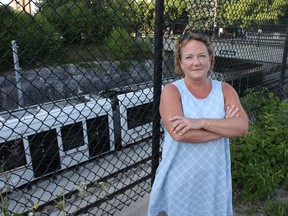 Lorrie Marlow, president of the Mechanicsville Community Association, says the noise from the LRT system is disruptive to her and her neighbours.