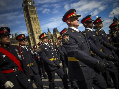 The Police and Peace Officers' 42nd annual Memorial Service was held Sunday, Sept. 29, 2019, on Parliament Hill.
