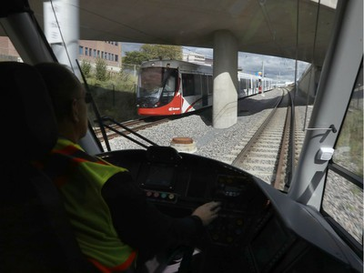 Ottawa's new LRT system was up and running for the public for the first time in Ottawa Saturday Sept 14, 2019.  Tony Caldwell,