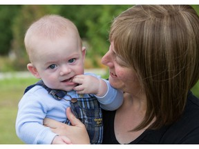 Jillian O'Conner was diagnosed with metastatic breast cancer in 2014 while pregnant with son Declan, who was born on Feb. 1, 2015.