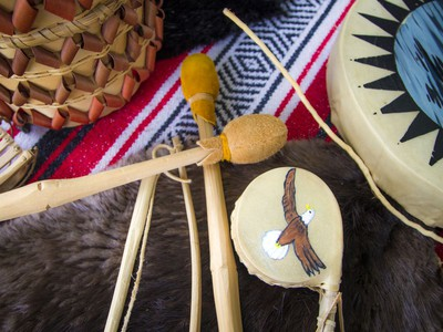 """Anishinabe Nibin, or """"Algonquin summer,"""" was celebrated in Gatineau Park on Saturday, Oct. 12, 2019, where people could learn more about the traditional Algonquin way of life, as well as a chance to see artisans at work.  Ashley Fraser/Postmedia"""