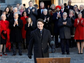 Prime Minister Justin Trudeau and his new cabinet: They're hitting the books before the throne speech later this week.