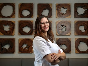 Sous-chef Kathryn Ferries poses for a photo at Stofa restaurant in Ottawa Wednesday Nov 20, 2019.