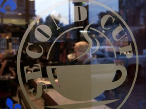 Second Cup faces tough competition from the likes of Tim Hortons and McDonald's, much bigger chains.