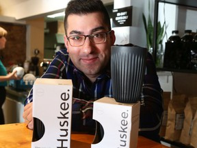 Ahmet Oktar is the co-owner of Happy Goat Coffee chain. His company is taking part in a coffee-mug swap scheme that encourages people to use reusable mugs.