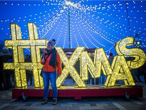 The Ottawa Christmas Market at Lansdowne. The free, European-style event will take place on weekends from November 29 to December 22, 2019.