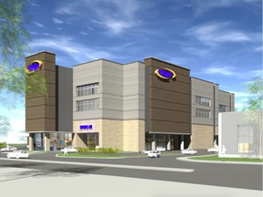 Proposed Dymon Storage warehouse at 1375 Clyde Ave.