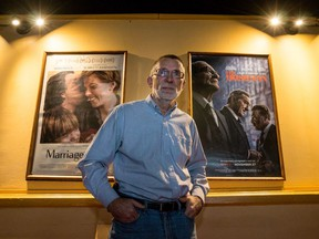 Bruce White, owner of the ByTowne Cinema.