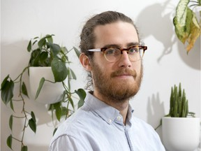 Aaron Thornell. of Ottawa Renewable Energy Co-operative, is helping people make small-scale investments in both their retirement and a greener planet.