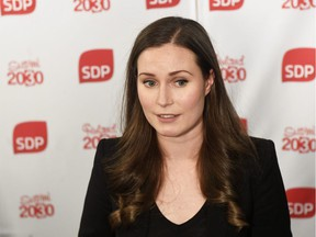 Sanna Marin of Finland's Social Democrats was elected to the post of Prime Minister in Finland few days ago. She's 34.