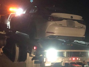 Nineteen-year-old G2 driver caught driving at 200+ km/h.