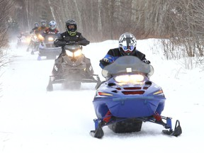 Stay safe when out snowmobiling