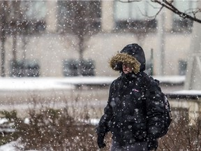 Chilly with a chance of flurries Thursday