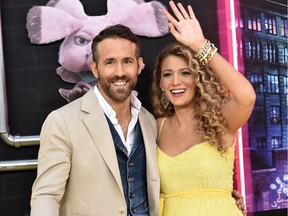 File: Actors Blake Lively and Ryan Reynolds.