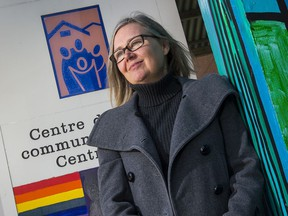"""Tamara Chipperfield is director of mental health and addictions at the  Centretown Community Health Centre which is one of 13 local agencies that have partnered on a new website to offer """"one door access"""" to mental health counselling."""
