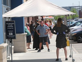 Marshalls opened to the public for the first time in months at the Train Yards in Ottawa Wednesday.