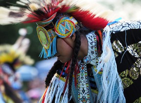 One of the Summer Solstice Indigenous Festival's main draws each year is the Pow Wow dance competition. This year, entrants will perform from home and viewers can watch and vote for their favourite dancers.