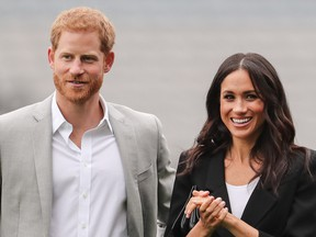 FILE: Harry and Meghan.