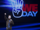 WE co-founder Craig Kielburger speaks at a WE Day event in 2011.