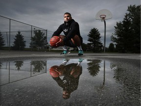Jamil Abiad, who runs the Summer Grind basketball camp, talks to his young players about Black Lives Matter and says he wants them to understand 'that they need to start the change as well.'