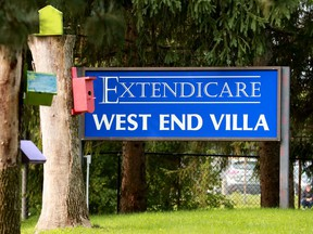Extendicare West End Villa long-term care facility.
