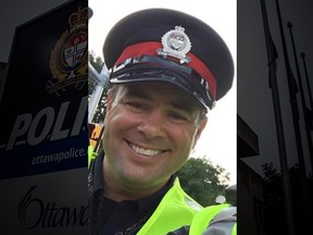 Ottawa Police Const. Bruno Gendron died Thursday while mountain biking in Larose Forest. He was 47.