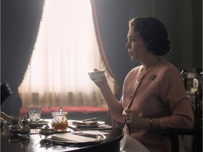 Olivia Colman in The Crown. Netflix