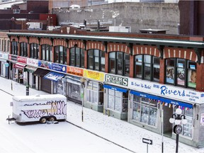 Boxing Day in Ottawa, Saturday Dec. 26, 2020.  Ottawa's ByWard Market was very quiet as Ontario kicked off day one of the current lockdown.