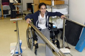 Bushra Saeed-Khan's traumatic injuries brought her to The Ottawa Hospital where a dedicated team of experts was ready to help her get back home.