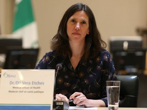 Dr. Vera Etches, Medical Officer of Health.