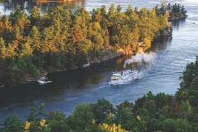 Cruising along the St. Lawrence and Ottawa rivers provides the perfect atmosphere to get away without leaving Canada.