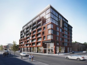 : James House is an eight-storey condo building by Urban Capital to be built in Centretown on the site of the former James Street Pub.