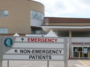 The Queensway-Carleton Hospital is one of three hospitals in Ottawa that have received COVID-19 patients from Ajax and Scarborough. Jean Levac/Postmedia