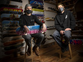 Adam Wawrzynczak, co-owner of Birling Skateboard shop, and Billy Johnson, an avid skateboarder, have come together to create a fundraising raffle for The Royal.