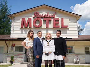 The Rosebud Motel, which features in every episode of Schitt's Creek, is actually called the Hockley Motel and is located in Mono, Ont.
