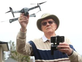 Bernie MacDonald, a retired public servant, bought a drone to play around with in his neighbourhood park, but he says he has been hamstrung by all the municipal rules involved.