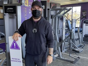 Jeff Christison owns six of the nine Anytime Fitness locations that have opened in Ottawa.