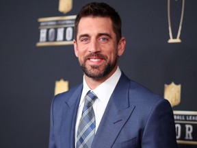 Green Bay Packers quarterback Aaron Rodgers is currently seen on a stint as a temporary guest host of Jeopardy!