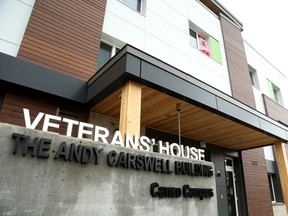 Veterans' House in Ottawa received more funding from the Provincial and Federal government.