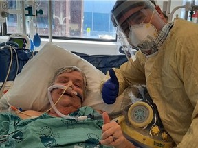 Kanata's Sharon Charlebois felt rundown after Christmas. Days later, she was diagnosed with COVID-19. She spent almost one month at The Ottawa Hospital, much of it in the ICU, where she agreed to take part in an innovate stem cell clinical trial led by hospital researchers.
