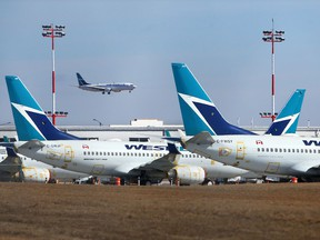 The Liberal government has said talks with carriers like Onex Corp.-owned WestJet are ongoing.
