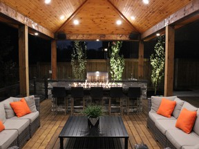 Backyards like this one by Toronto Landscape Design top the list of renovations Canadian homeowners plan to tackle this year.