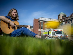 Amy-Lynn Howson has a spotlight being shone upon her after another nurse recorded and posted a video of her singing and playing guitar to COVID-19 patients in the ICU at The Ottawa Hospital. Her song You Are Not Alone was written years before the pandemic but perfectly suits what people are facing today.