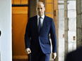 Prince William — above arriving Thursday to meet with military personnel and veterans who were invited to watch the Ceremony of the Keys at the Palace of Holyroodhouse in Edinburgh — was scathing in his criticism of the BBC, accusing it of failing his mother and the public.