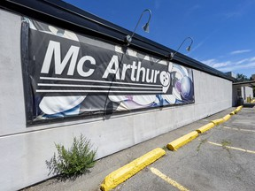The historic bowling alley McArthur Lanes is closing, it was announced this week. The property has been sold.